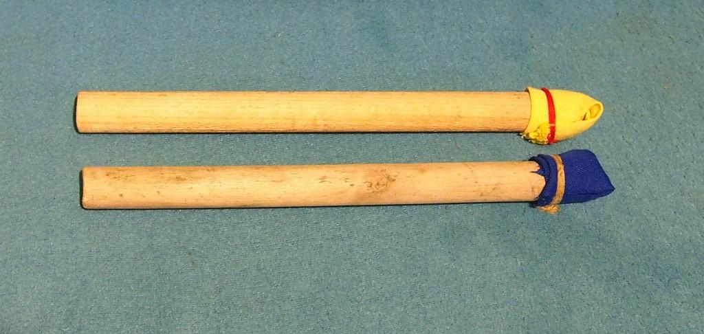 drewniane pałki do kręgli - armatek edukacyjnych
