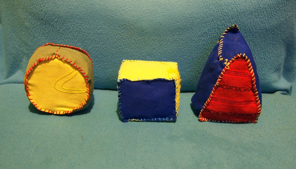 rzutki geometryczne - strona kolorowa